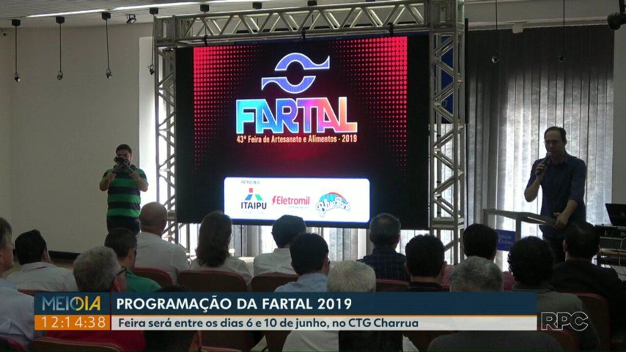 Confira a programação da Fartal 2019