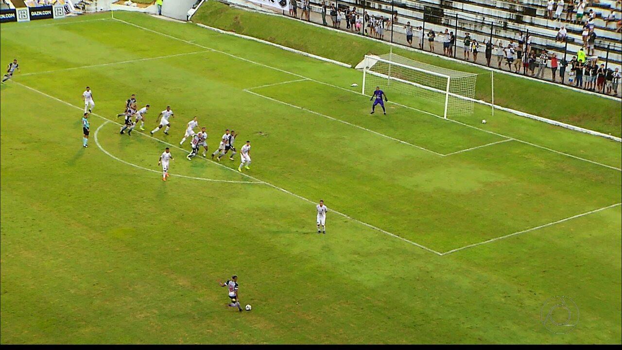 Assista aos lances da vitória do Botafogo-PB sobre o ABC, pela Série C