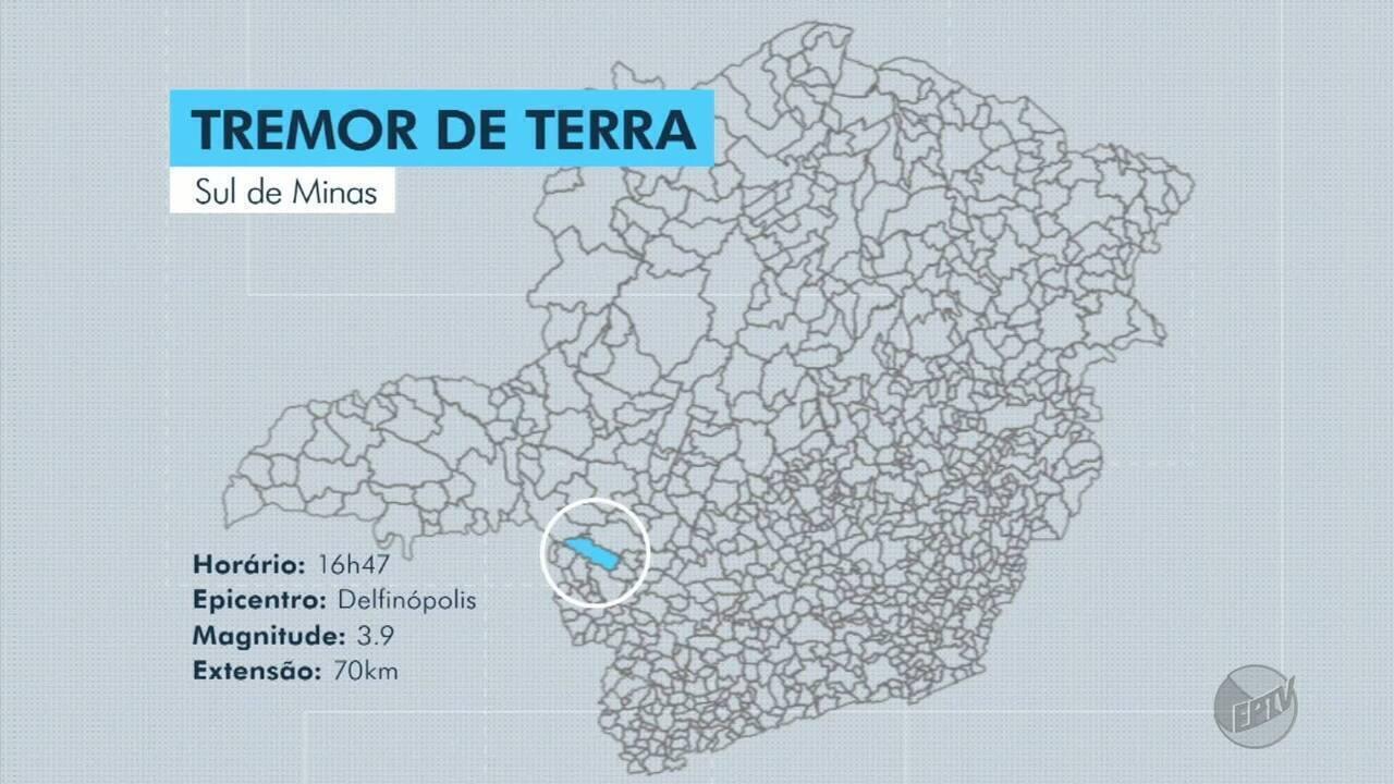 Laboratório da UNB registra tremor de terra de magnitude 3.9 em Delfinópolis