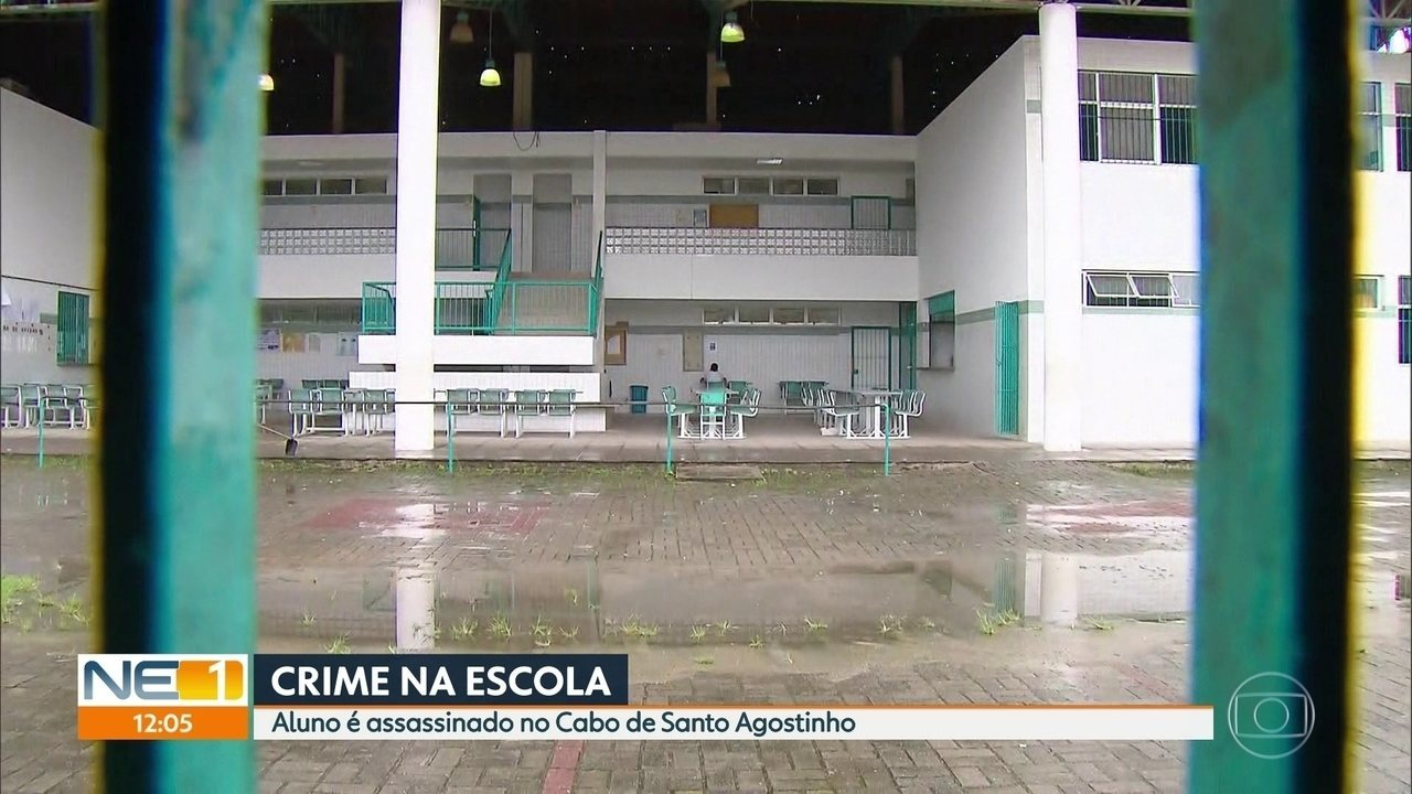 Aluno é assassinado dentro de escola municipal do Cabo
