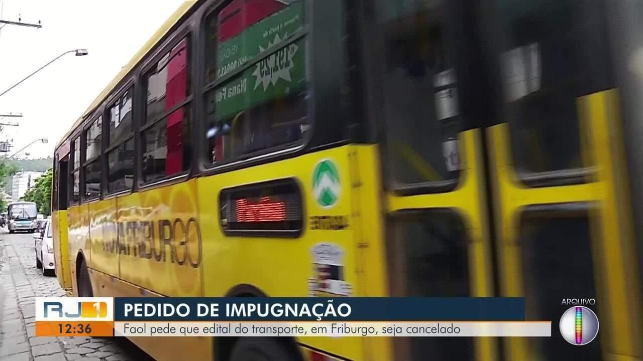 Faol contesta edital do transporte público em Nova Friburgo