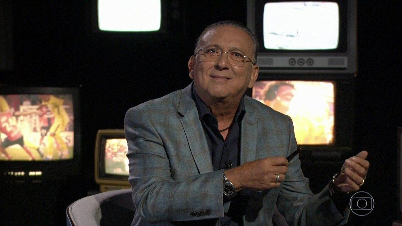Galvão Bueno faz narração especial para campeões mundiais de revezamento 4x100m