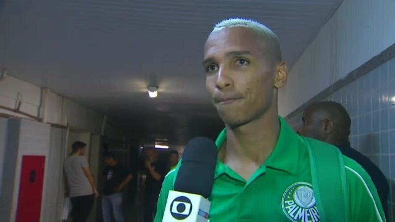 """""""Foi o Moisés ou o Victor?"""": Deyverson confunde autor de gol do Palmeiras"""