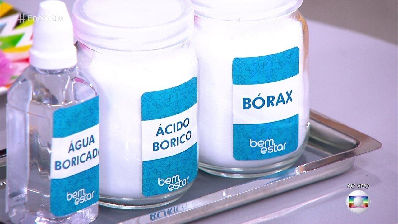 Slime: uso do bórax é perigoso?