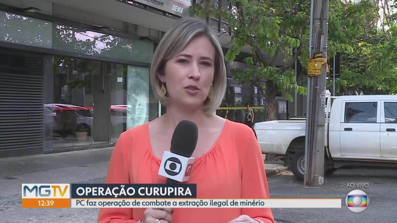 Polícia Civil realiza operação que combate extração ilegal de minério em Mariana