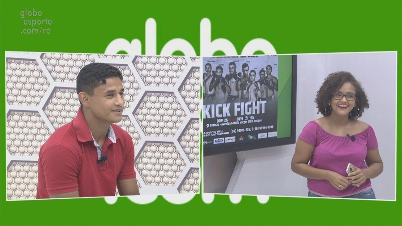 Bate-papo GE: Cangaty fala de luta que disputará em Rio Branco