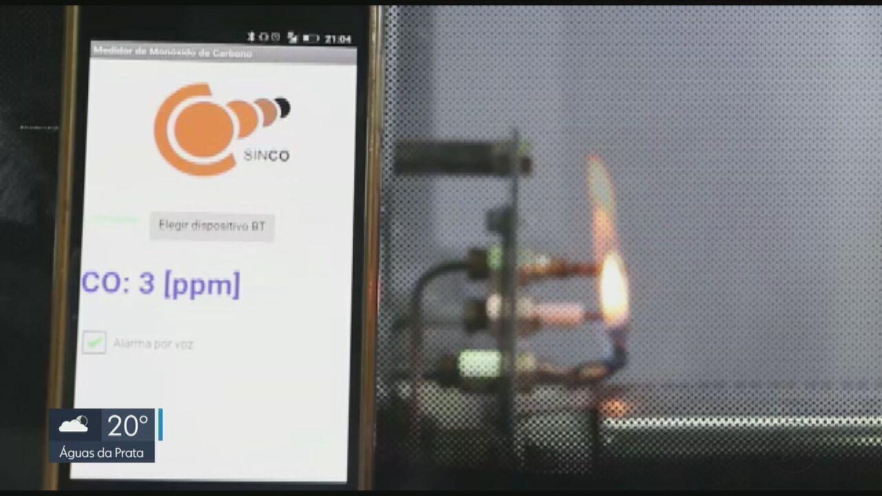 Dispositivo desenvolvido na UFSCar identifica vazamento de monóxido de carbono