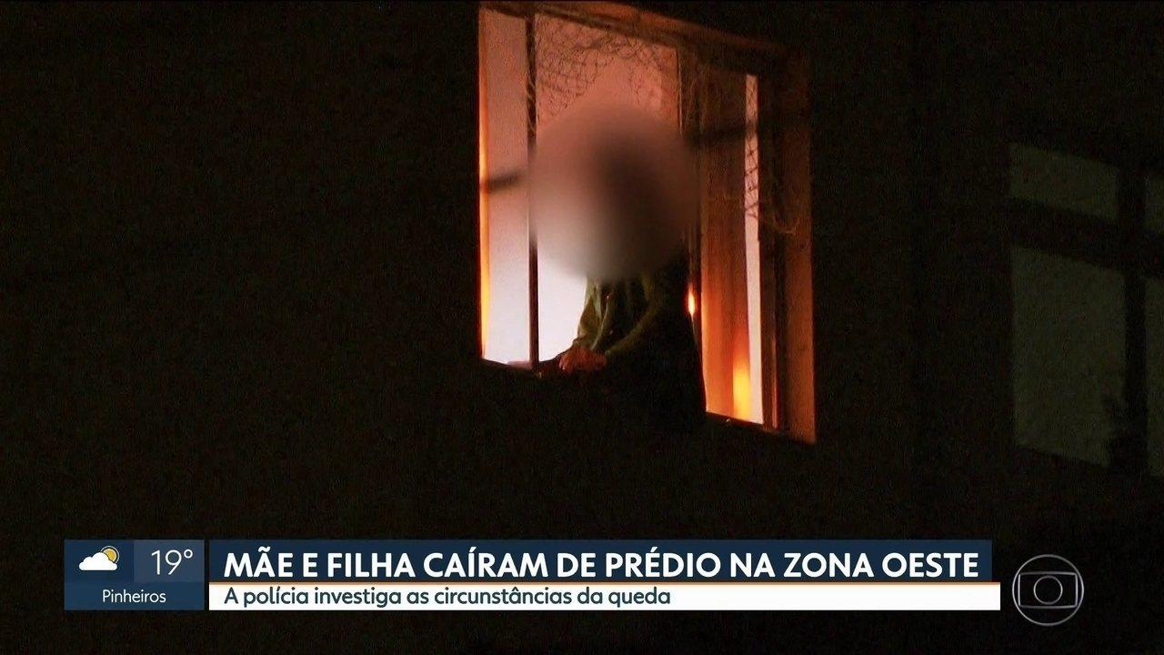 Mãe é suspeita de jogar filha de 3 anos da janela de prédio, em São Paulo