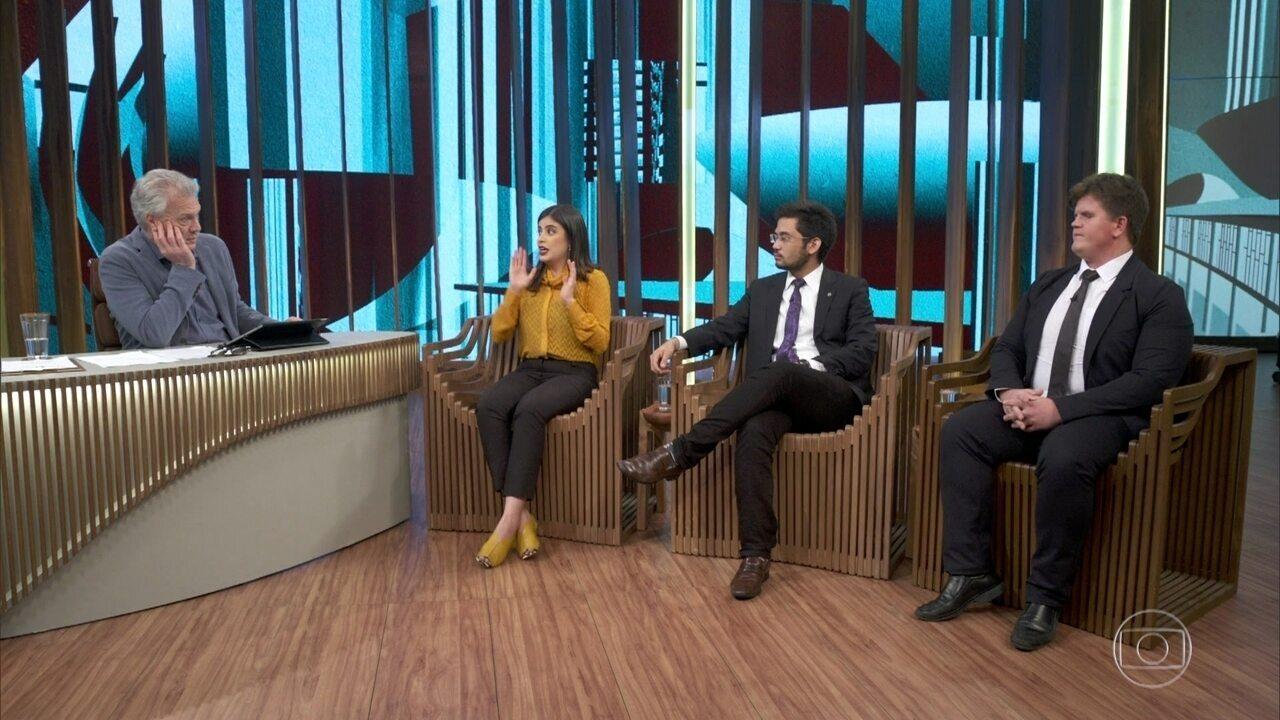 """Tabata, Kim e Felipe concordam que não há """"velha e nova política"""""""