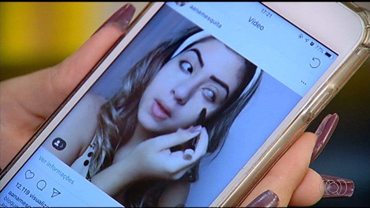 Conheça história de superação de jovem com glaucoma, em Goiás