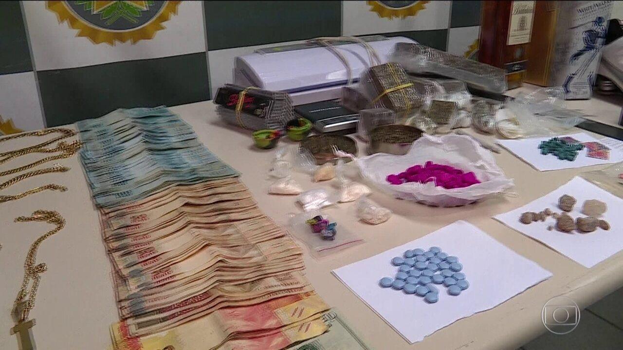 Polícia faz operação em três Estados contra lavagem de dinheiro do tráfico de drogas
