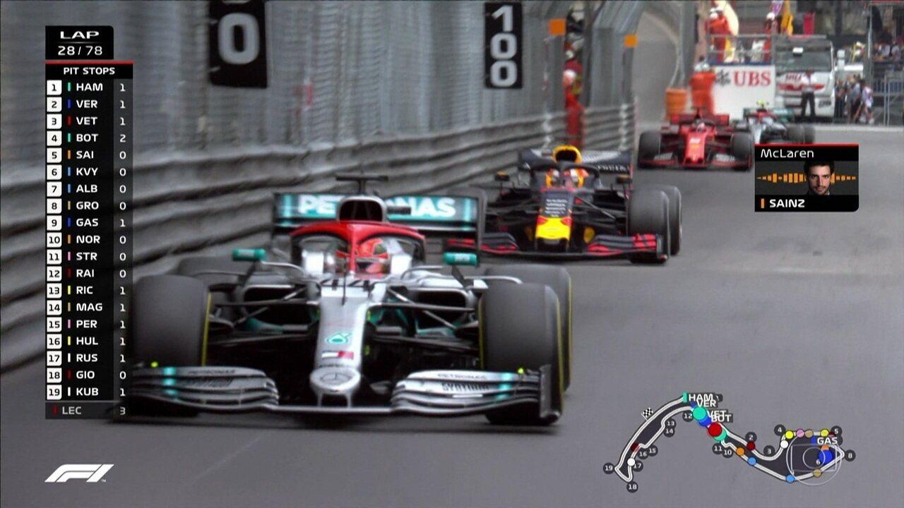 Sainz comunica chuva em trecho do Circuito de Mônaco