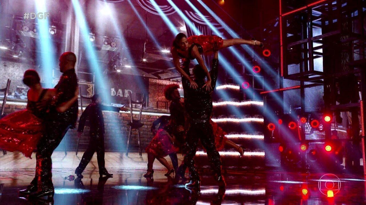 Filhos do Samba se apresentam no Dança de Grupo juntando tango e samba