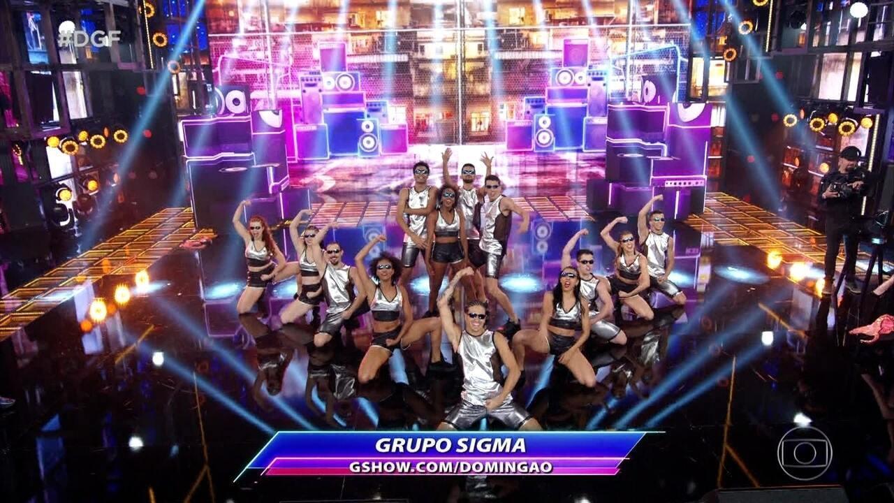 Sigma se apresenta no Dança de Grupo com funk e salsa
