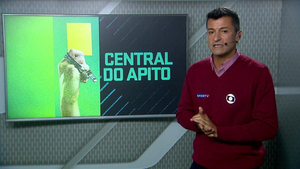 Central do Apito no jogo Bahia 3 x 2 Fluminense
