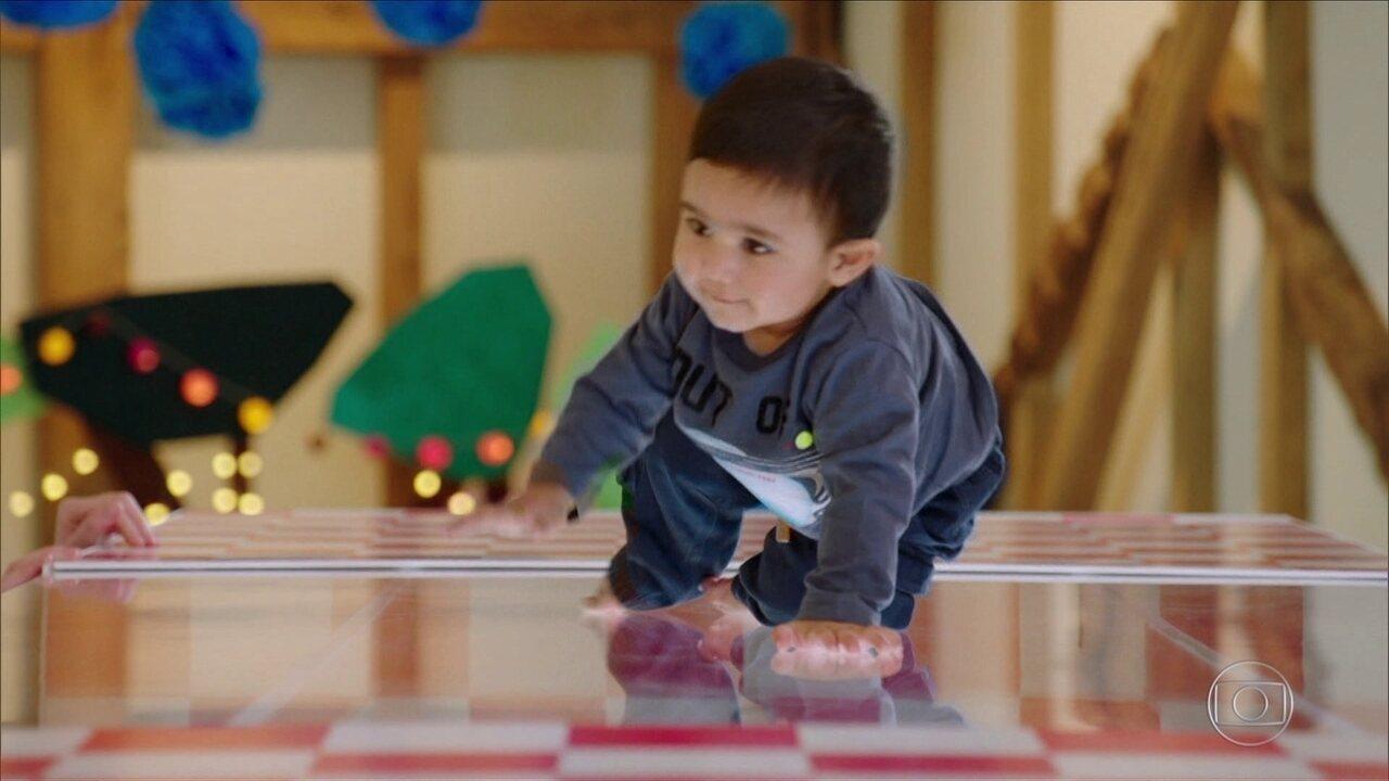 O Maravilhoso Mundo dos Bebês: os primeiros passos