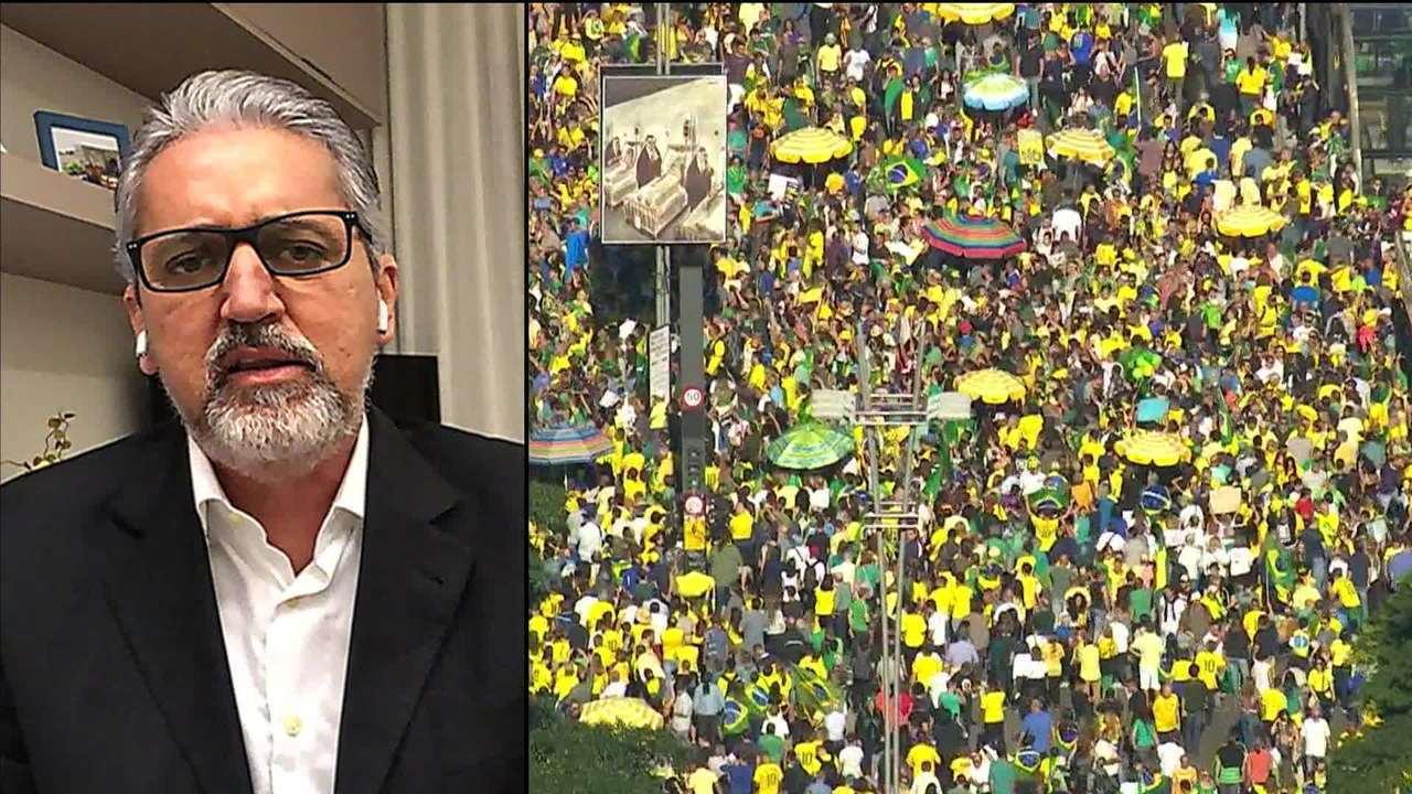 Valdo: expectativa do governo é que protestos funcionem como pressão para aprovar medidas