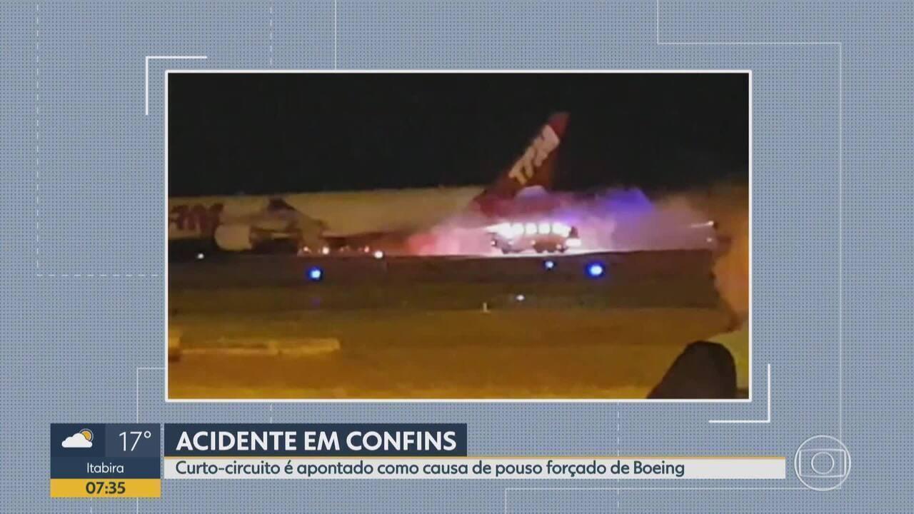 Curto-circuito causou pane em Boeing 777 da Latam que fez pouso forçado em Confins em 2018