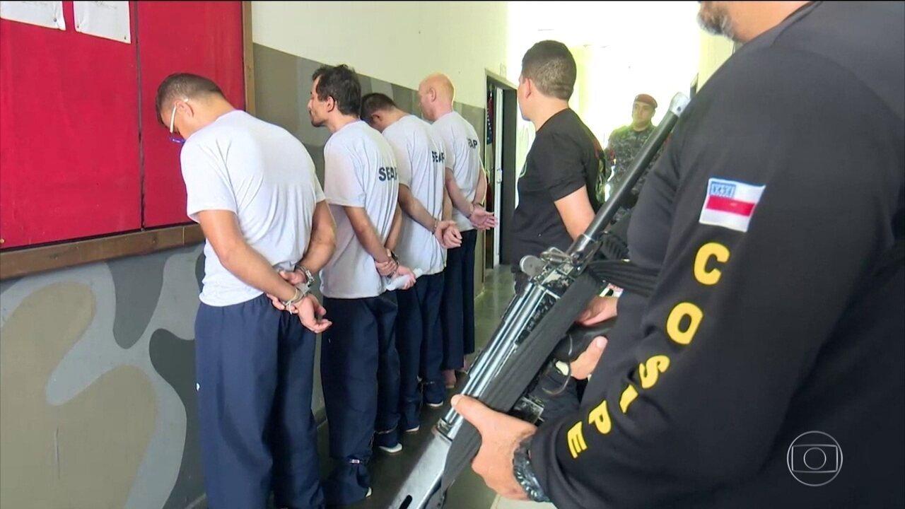 Força-Tarefa Federal chega a Manaus para atuar em presídios