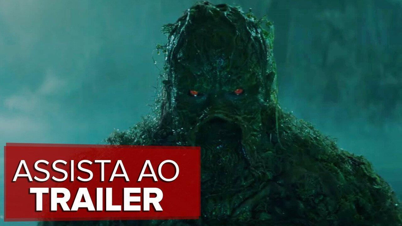 Monstro Do Pântano Nova Série Da Dc Ganha Trailer Completo