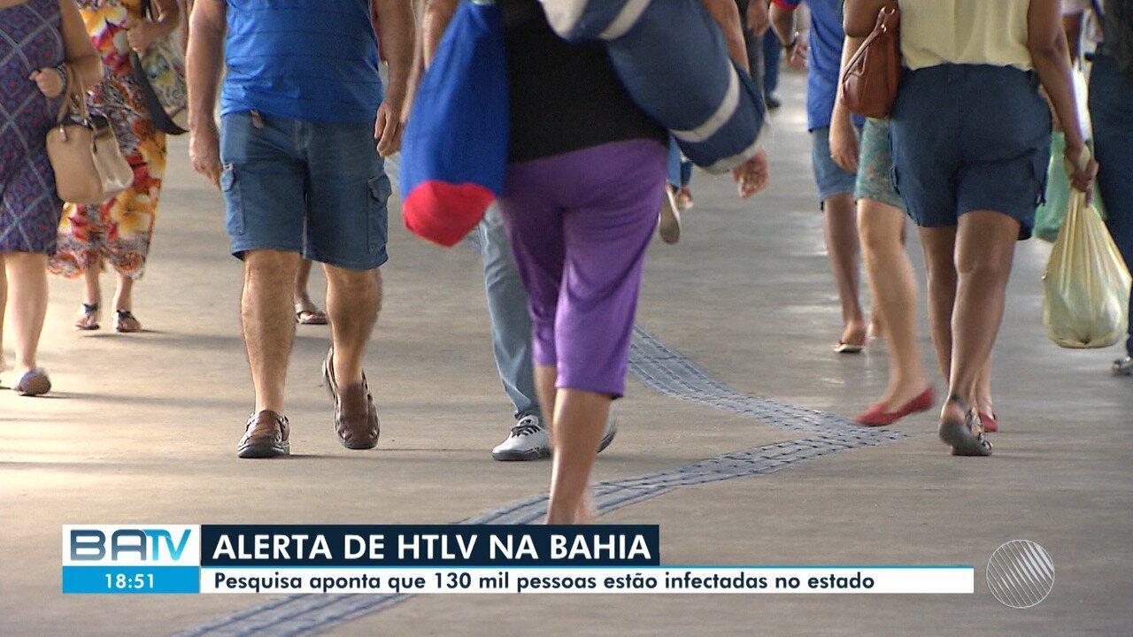 Bahia é o estado com maior número de pessoas com vírus HTLV do país, aponta Fiocruz