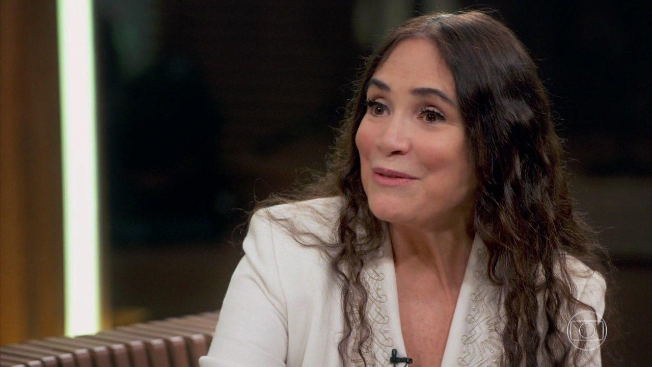 Regina Duarte fala sobre o trabalho com Gabriela Duarte na novela 'Por Amor' no 'Conversa com Bial