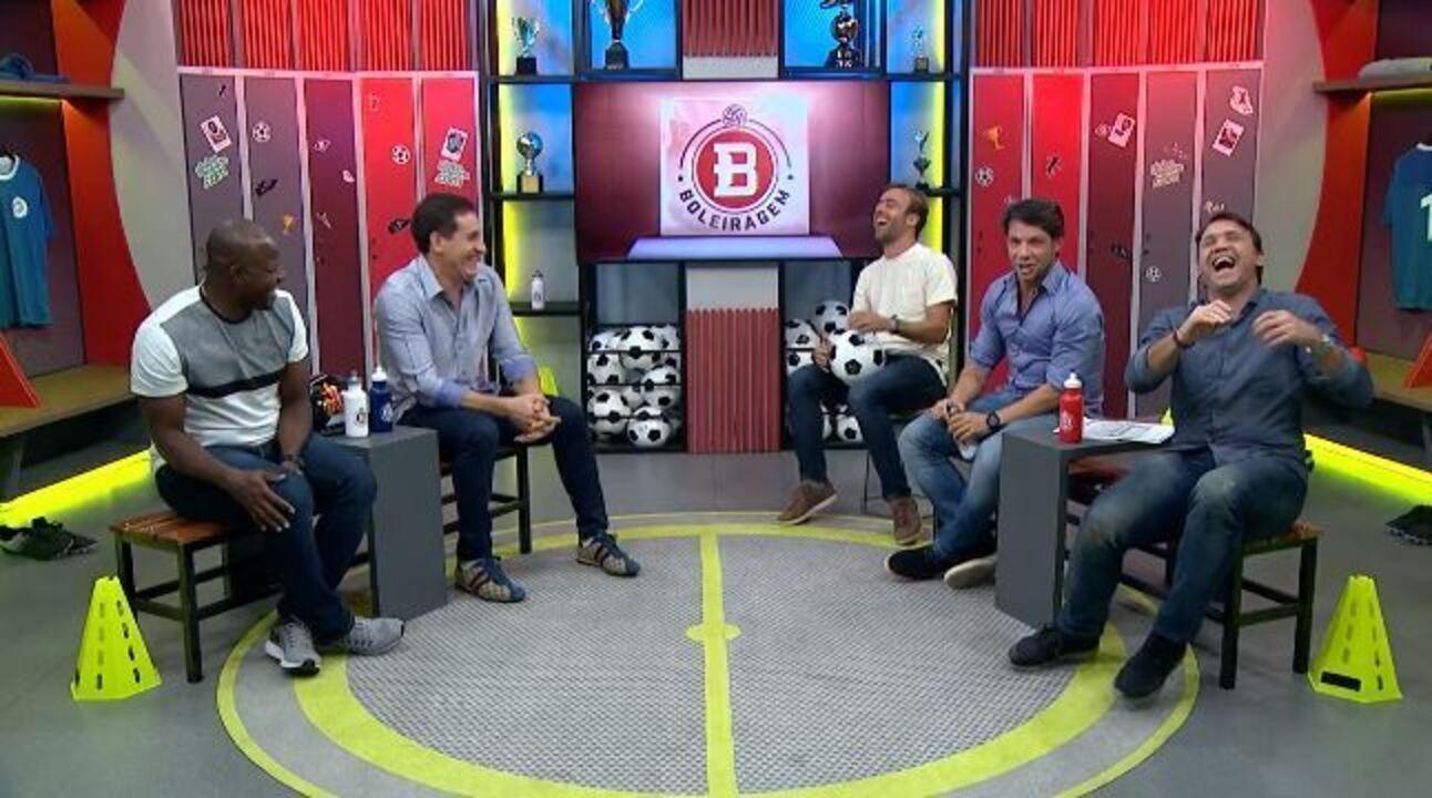 Boleiragem: Roger Flores e Pet recebem Marcão, Preto Casagrande e Gamarra