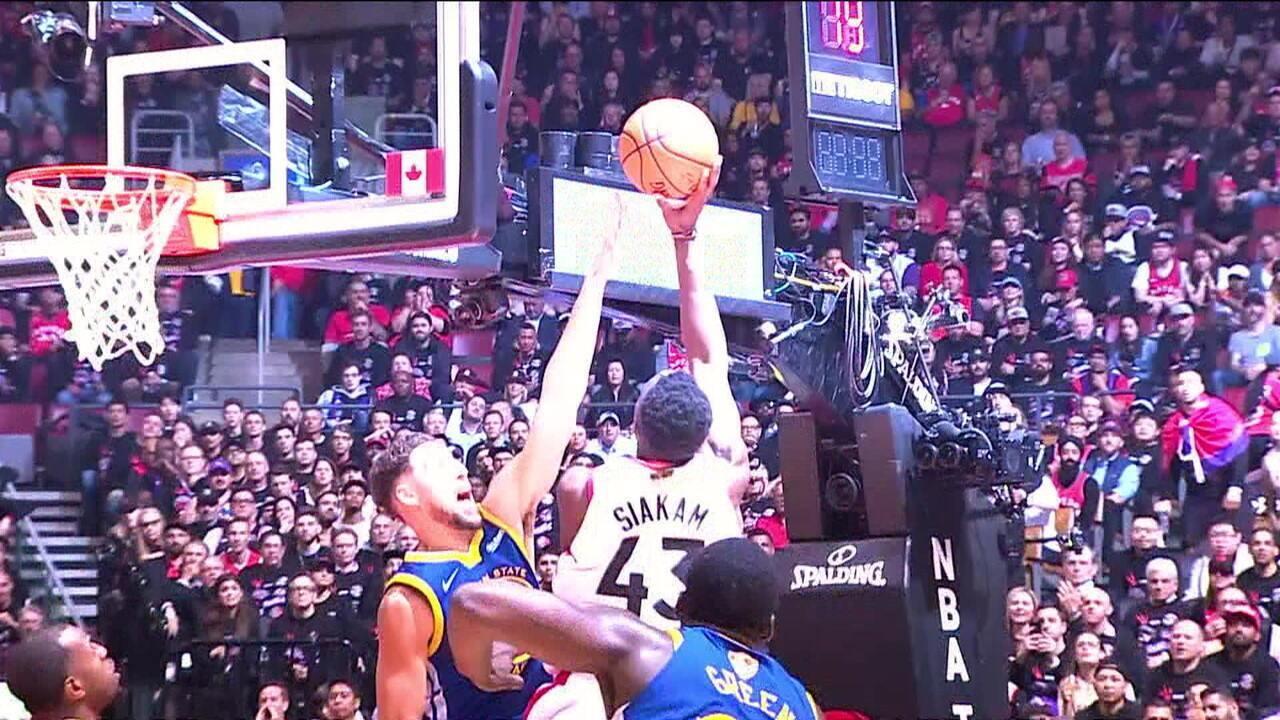 Toronto Raptors vence o Golden State Warriors e começa na frente na final da NBA