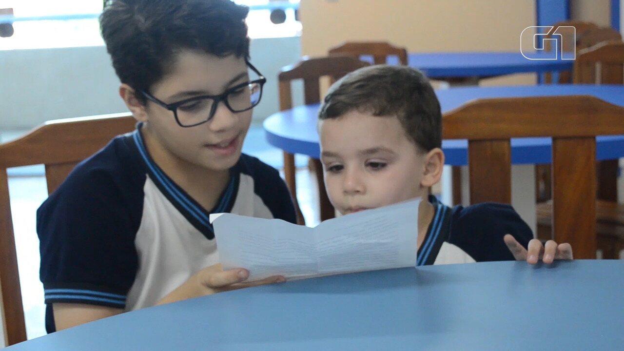 'Ser humano é o que te torna herói', diz criança em carta para o irmão com síndrome rara,