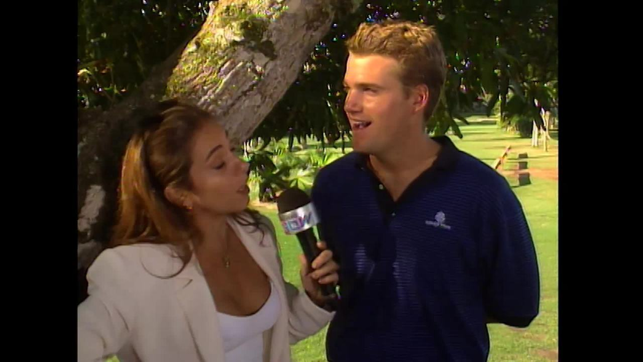 Reveja a participação de Chris O´Donnel no Vídeo Show