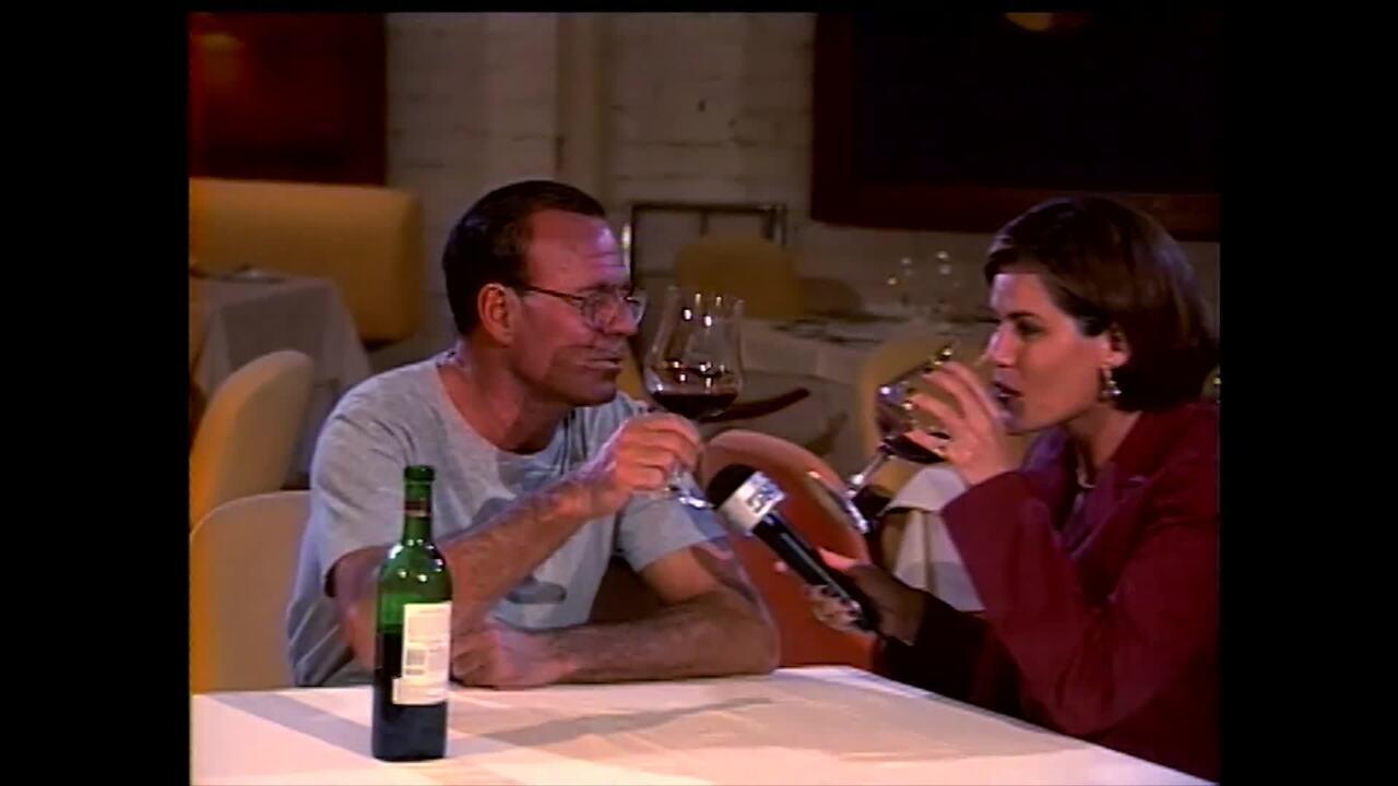 Reveja a participação de Julio Iglesias no Vídeo Show