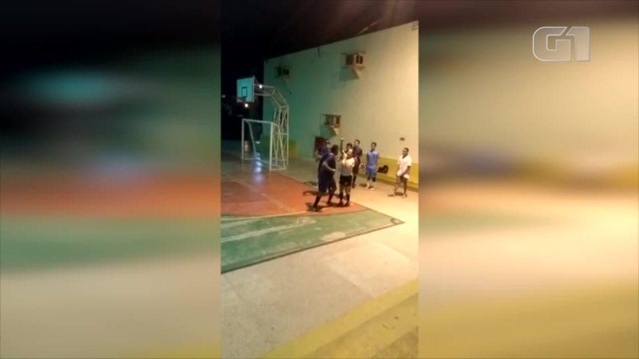 Árbitra é agredida a socos durante partida na Universidade Federal do Delta do Parnaíba