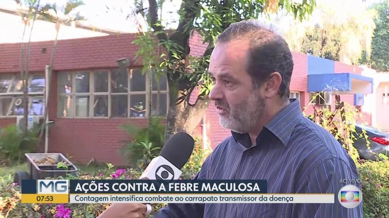 Sobe para 21 suspeitas de febre maculosa em Contagem, na Grande BH