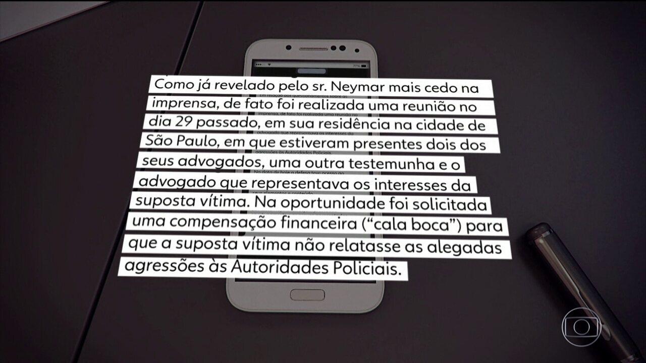 Neymar é intimado a depor à Polícia Civil do RJ por suspeita de crime virtual