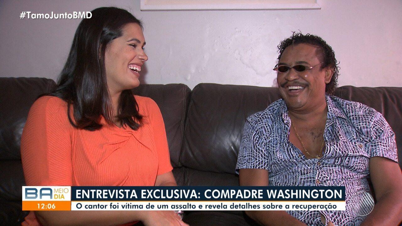 Compadre Washington fala sobre o assalto e agressões sofridos em São Paulo
