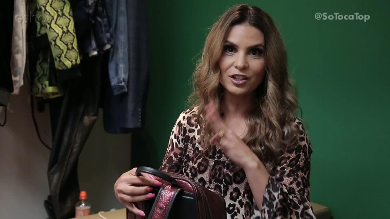 Aline Barros mostra o que carrega na sua bolsa fala curiosidades da sua intimidade