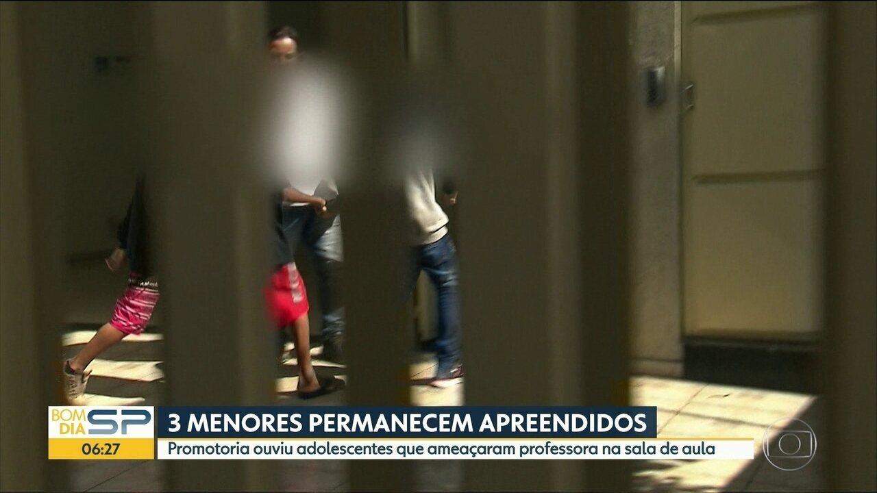 Jovens envolvidos em vandalismo em Carapicuíba são ouvidos pela Justiça