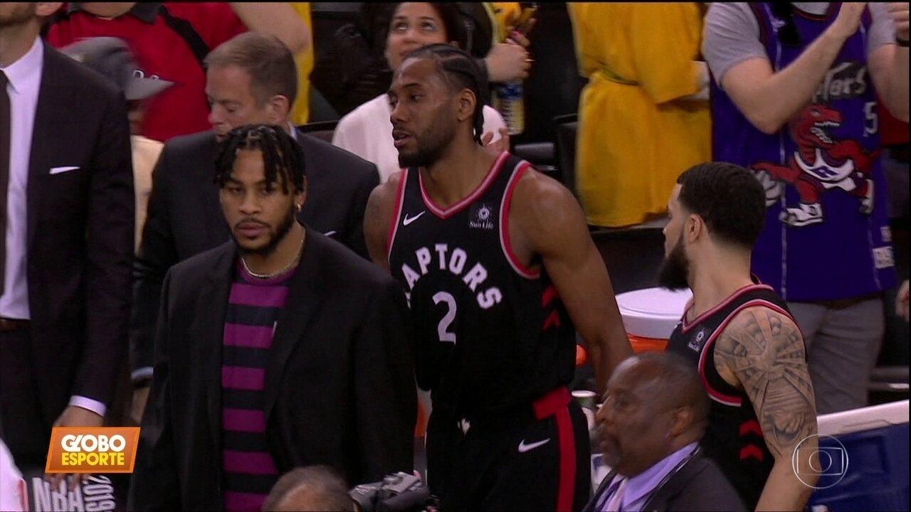 Toronto Raptors vence jogo três das finais da NBA