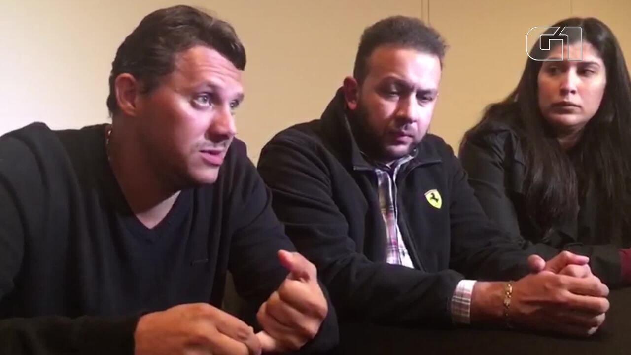 Pais de meninas mortas no Chile falam sobre acidente