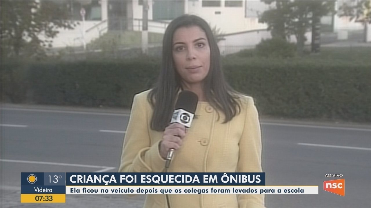 Criança de 4 anos é esquecida em ônibus em São Joaquim