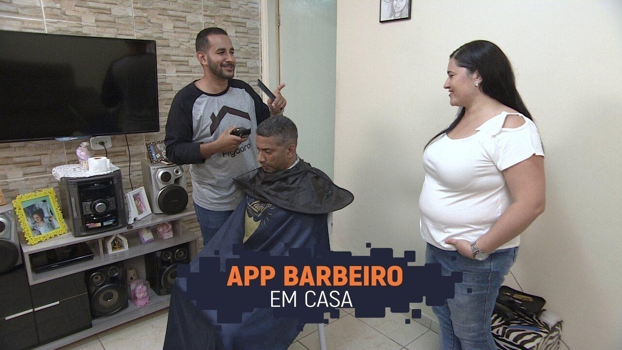 Empresário cria aplicativo para atendimento de barbeiro à domicílio