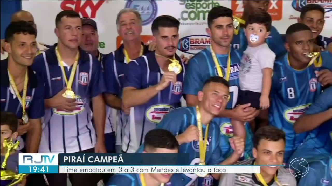 Piraí é a grande campeã da Copa Rio Sul de Futsal 2019
