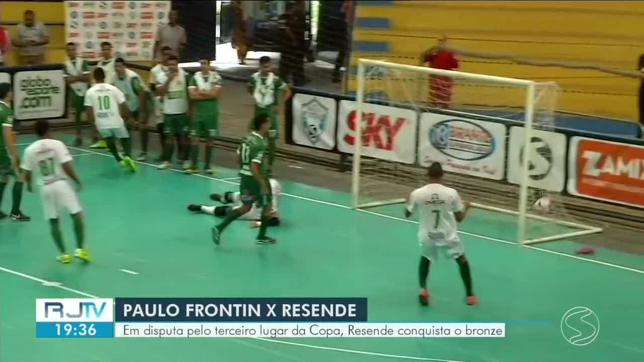 Resende conquista o bronze na disputa pelo 3º lugar da Copa Rio Sul de Futsal