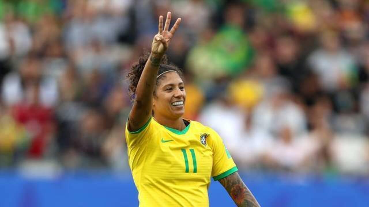 Melhores momentos: Brasil 3 x 0 Jamaica pela Copa do Mundo de futebol feminino