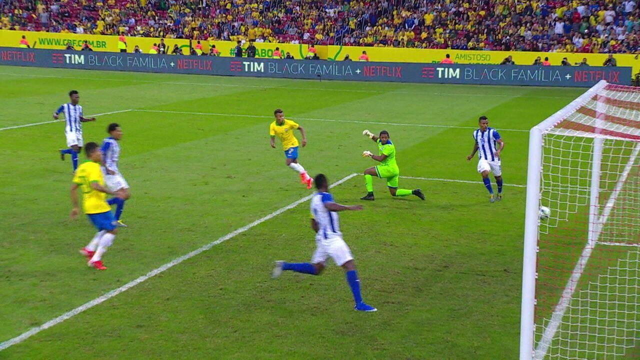 Veja os gols de Brasil 7x0 Honduras