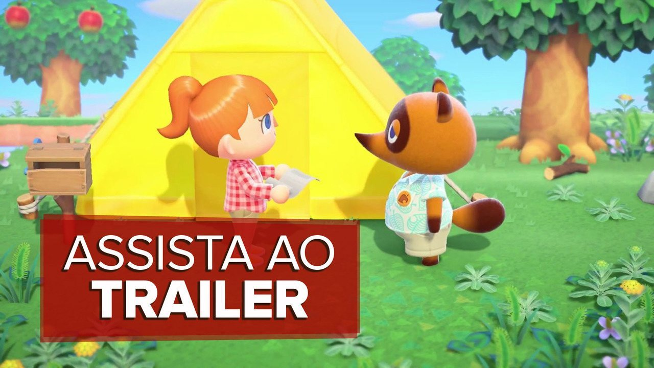 'Animal Crossing: New Horizons': veja trailer com gameplay