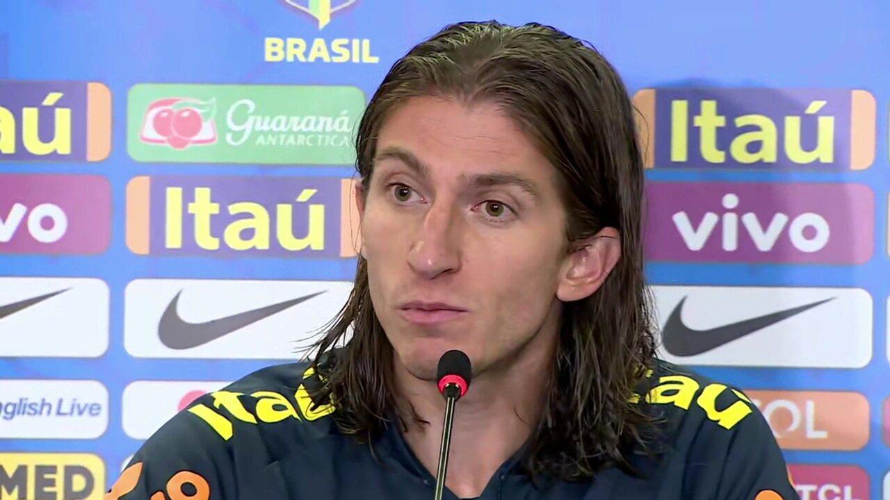 Filipe Luís diz que decidirá futuro depois da Copa América