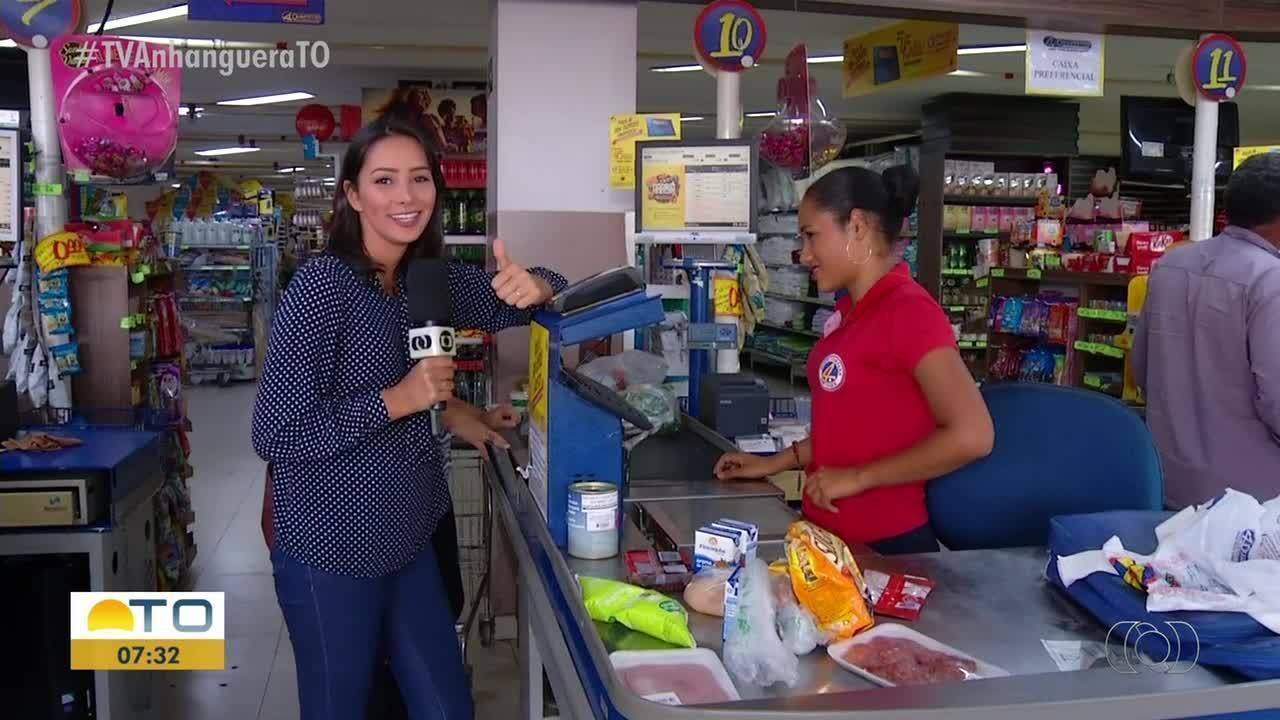 A missão de Dia dos Namorados é comprar R$50 em alimentos para um jantar romântico