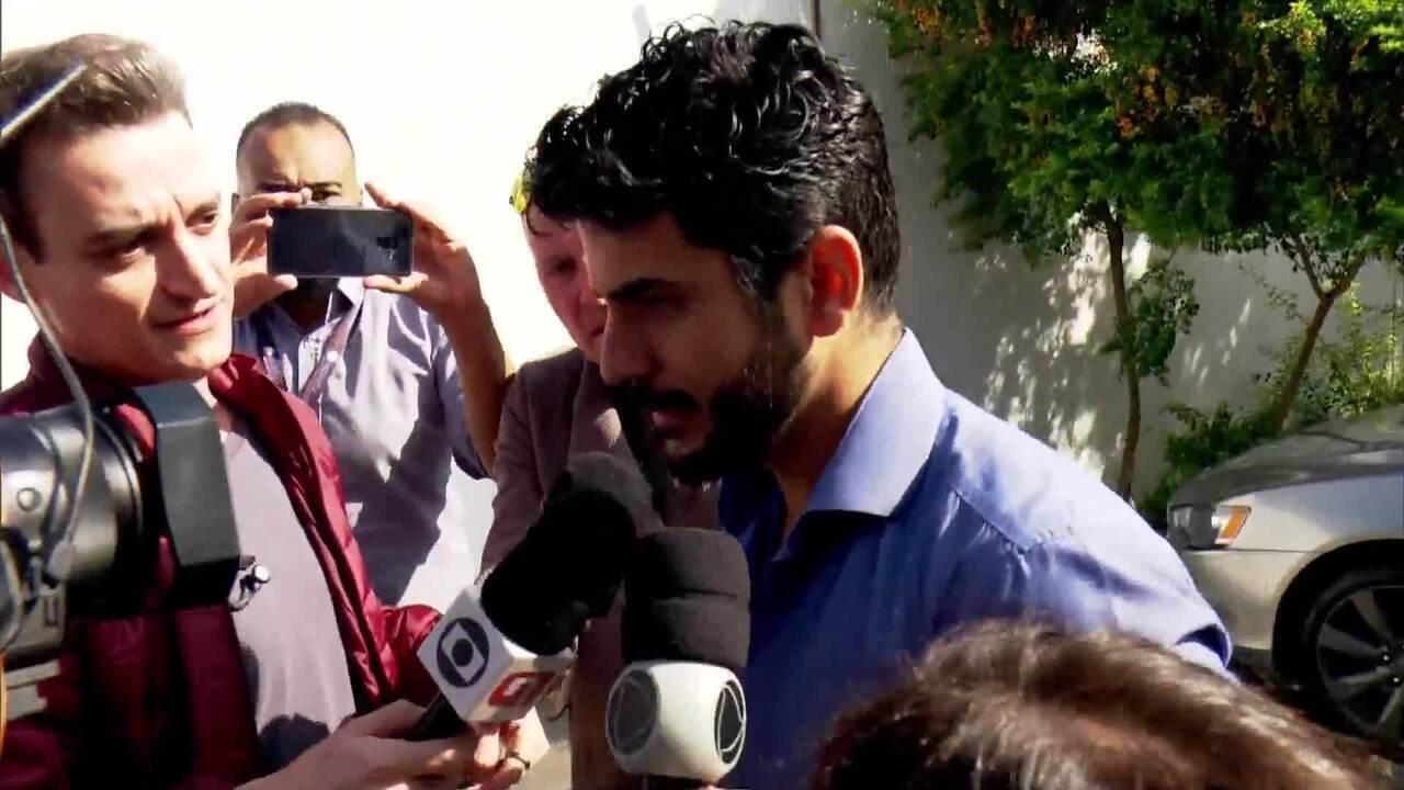 Ex-marido de Najila depõe em SP sobre o caso Neymar