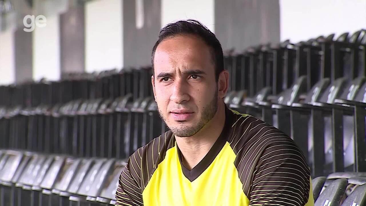 """Leandro Costa: """"Me sinto muito bom aqui. Fiz um pacto comigo para conquistar algo aqui"""""""